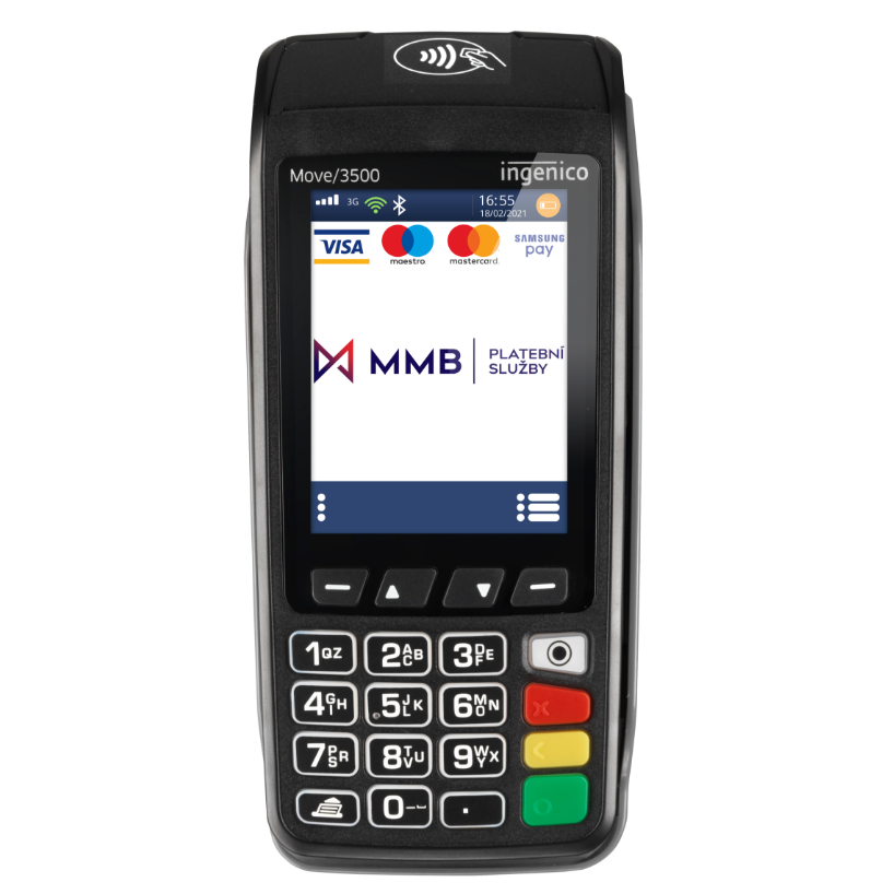 portable terminal MONETA Money Bank